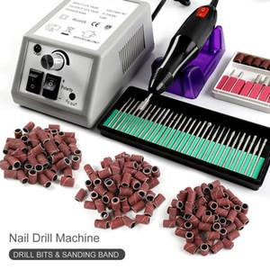 Professional Electric Nail Drill Machine Set Nail Art File Milling Cutter Manicure Nail Art Pen Pedicure Equipment Art Tool