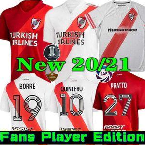 Jugador Versio 20 21 River Plate Home Jersey Soccer Martínez Borré Scocco Suárez Fernández HumanRace Pratto 2020 2021 Visita de fútbol