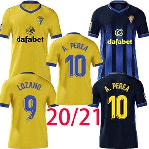 2020 2021 Cadiz Soccer Jerseys Cadiz CF Camisetas de Futbol 20 21 Lozano Alex Bodiger Juan Caliseta A Liga Men Football Commir