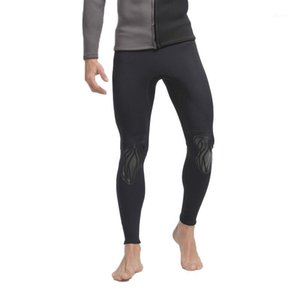 SBART Männer Surfen Neoprenanzug Pants 3mm Neopren Tauchen Hautwächter Hosen Anti-UV-Schutz-Badeanzug Anti-Quallen Schnorchel-Trunks N1
