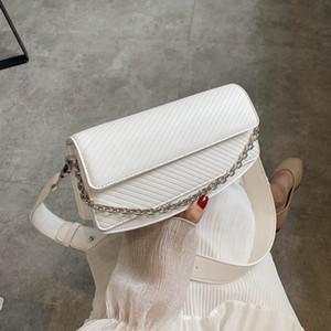 Designer-2020 New Fashion Chain Flap Crossbody Bags For Women PU Leather Female Shoulder Bag Sac A Main Femme Designer Ladies Handbags