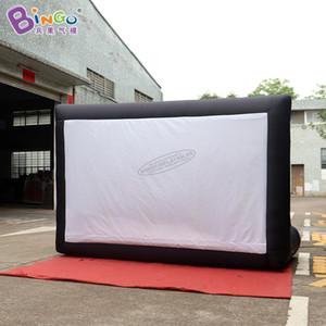 شخصية 3x2 متر نفخ شاشات الإسقاط / نفخ شاشة العرض / كبير تفجير فيلم شاشة اللعب الرياضية