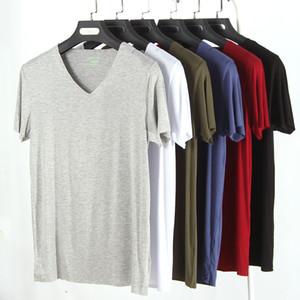 Tshirts Modal Shortsleeved Atmungsaktive Rundhalsausschnitt Atmungsaktive Massive T-Shirts Mode Herren Tops Mode Herren Sport Tshirts Modal Short