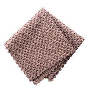 2020 New Anti-grease Wiping Rags Kitchen Efficient Super Absorbent Microfiber Cleaning Cloth Home Washing Dish Kitchen Cleaning Towel