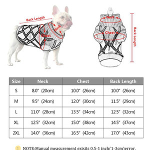 Pet Dog Winter Warm Jumper Sweater Dog Puppy Clothes For Small Medium Dogs Cats Chihuahua Ropa Para Per sqcaiM