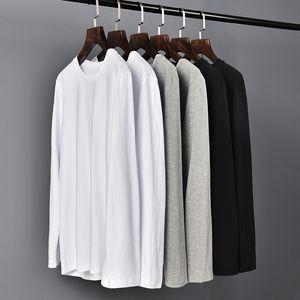 Cotton Cotton Color Cotton Round Leader Leader Leader In-Shirt Uomo Base Base Top T-shirt T-shirt Maschile Plus Code Personalizzazione