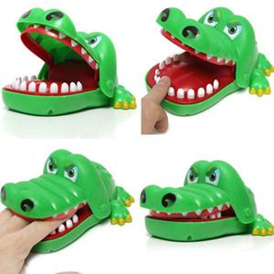 متعة اللعب تمساح طبيب الأسنان لدغة فنجر لعبة لعبة التمساح للأطفال هدية التمساح لعبة الأسنان استخراج عضة الاصبع لعبة أطفال TNT الحرة