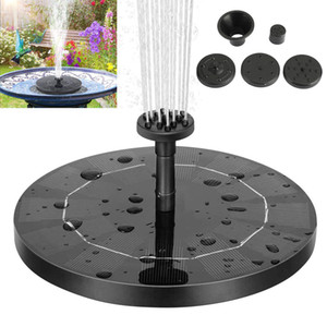 AREYOURSHOPSHOP High Efficiency Water Fountain Pump Pump Bird Bath Solar Powered Garden Garden Airing System Accessori per yard