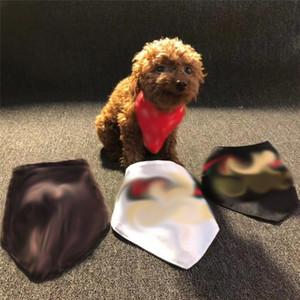 Ins Tarzı Baskılı Evcil Hayvanlar Bandanas Klasik Ayarlanabilir Teddy Bichon Tükürük Havlu Kapalı Açık Güzel Evcil Hayvanlar Yay