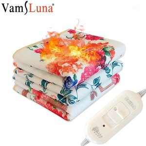 Electric Heated Blanket Winter Warm Heater for Body Electrica Thermostat Heated Blanket Heating Carpets Mat1