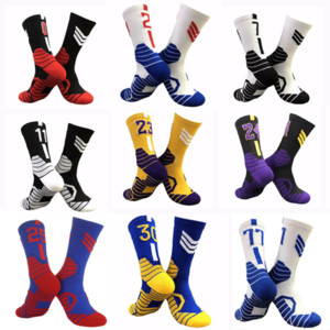 Professionelle Superstar Basketball-Socken Elite Dicke Sports Socken Rutschfestes dauerhaftes Skateboard-Handtuch Bodenstrumpf