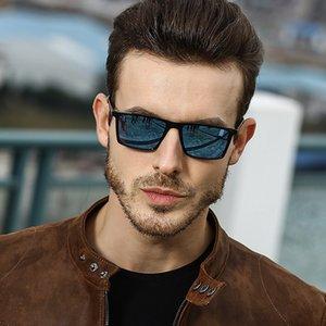Guangdu 2019 Nueva Trend Top Versátiles Versátiles Polarizados Polarizados Hombres Diseñador de marca Moda Lujo Decorativo Decorativo Casual Sunglasses UV400