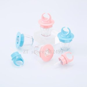 1 2 5pcs 8ml Empty Lip Gloss Tube Lips Bottle wand Brush Container Diamond Ring Shape Bottle Lipgloss Tube Concealer