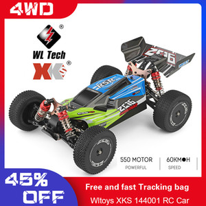 Wltoys RC car 144001 RC Car 60km h High Speed 1 14 2.4GHz RC Buggy 4WD Racing Off-Road Drift Car RTR Toys Kid