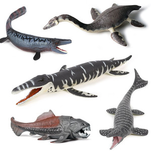 DIY Simulation Prehistoric Animal Marine Dinosaur Fish PVC Action Figures Dimensions Collection Model Doll toy for children Gift Y1127