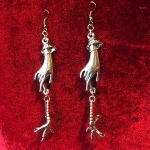 Серьги Voodoo Witch Hand Gothic The Eagle Claw Мода Украшения Ювелирные изделия Wicca Подарок женщин 2020 Новый Уникальный Beautiful1