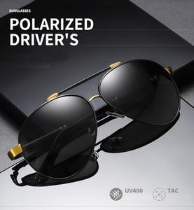 2020 Good quality mens polarized sunglasses for driving designer aviator sunglasses UV 400 sun glasses sun glasses gafas de sol polarizadas