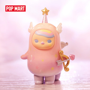 POP MART Pucky Horoscope Babies Collection Doll Collectible Cute Action Kawaii animal toy figures free shipping Q1123