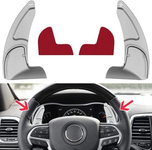 Goupgo Steering Wheel Shift Paddle Extended Shifter Trim Cover Compatible with Dodge Challenger Charger Durango RT & Scat Pack 2015-2020