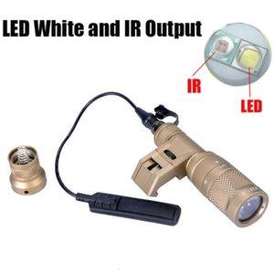 Lámpara IFM M300V IR Pistola Arma ligera Softair Tactical LED linterna Rifle Lanterna Airsoft Caza Luces