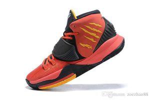 Kyrie 6 Bruce Lee Mismatch Verde Sapatos Vermelhos Para Venda Com Caixa Quente Kyrie Irving 6 Sapatos De Basquete De Invitacional Sapatos De Esporte Tamanho US7-US12
