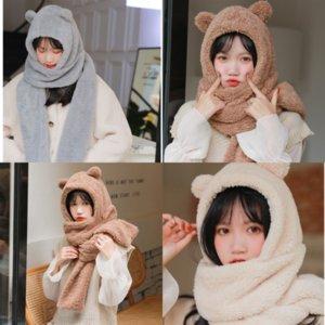 Осень Кеффийего Маленький Медведь Шерсть Шарф Австралия Шерстяная Шаль одежда Продам милый прекрасный зимний шарф для # 364