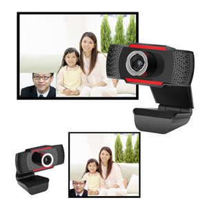 HD Webcam Web Telecamera 30FPS 1080P Telecamera per PC 1080P Built-assorbtion Microfono Sound-assorbtion Video record per computer PC Computer portatile con scatola al minuto