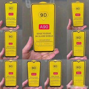 Aplicable a Samsung A10 A20E Pantalla A30A50 Pantalla completa Pega completa Full-Full Ridding Film A70 Teléfono Móvil Film Free Shipp