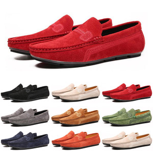 2020 men loafers running shoes black red green Athletic casual mens trainers sports sneakers size 40-47