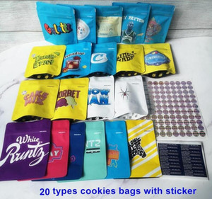 Cookies California SF White Runtz Collins Ave Pink Rozay The Soap Kush Animal Minntz Seed Junky Genetics Packaging Bags For Dry Herb Flownew