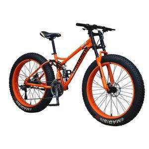 26 inç 21-hızlı değişken hız off-road plaj kar arabası yetişkin süper geniş 4.0 büyük lastik dağ bisikleti