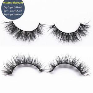 KEKEBAICHA Lite Mink Lashes 3D Mink Lashes Natural Volume False Eyelashes Flare Shape 15mm Short Eyelashes Makeup