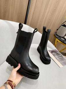 Mujeres Diseñador Botas Martin Desierto Boot Flamencos amor Arrow 100% Real Cuero Medalla Grueso A Levantamiento Non-Slip Zapatos Tamaño US6-11