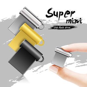 Metal USB Flash Drive 2.0 Pen Drive 64GB 32GB 16GB Memory USB Stick Pendrive 128gb U Disk Flash Drive