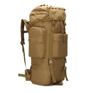 65L Backpacks Men's tactical climbing Molle Camouflage Bag Rucksack Outdoor Sport Army Camping Hiking Travel Large Bags