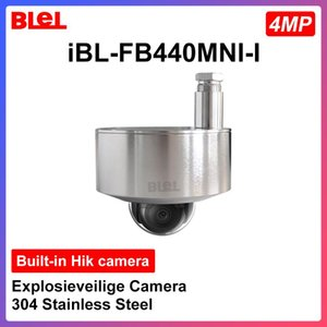 HIKVISION Explosion-proof Camera 4MP Built-in Hik camera 304 Stainless Steel Explosieveilige Support PoE Hik-Connect app IR 30m