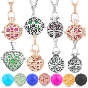 Vocheng Baby Chime Ball Sounded Bola Floating Locket Necklace Angel Caller Mother Child Pendant VA-199
