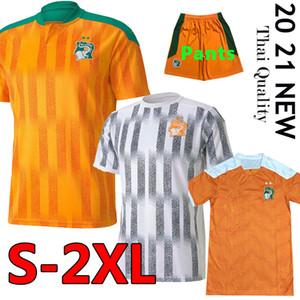 2020 2021 Costa D Ivoire National Team Jerser Soccer Coast Avorio Costa Drogba Kessie Zaha Cornet Uomini Homme Maillot de Foot Foot Foot Football Man Uniformi