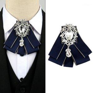 ربط الرقبة الشريط القوس التعادل المرأة فستان الزفاف قميص بلوزة الحرير ربطة رجل العريس طوق الزي الملحقات 1