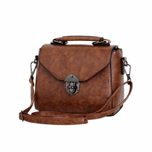 LANZHIXIN brand new vintage casual women PU leather small package female simple handbags ladies shoulder messenger crossbody bag