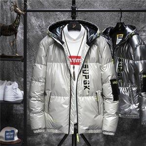 ECAQ 2017 зимняя куртка мужская пальто Пальто Chaqueas Eartwear Теплый гомбер Parka мужские тонкие куртки Спортивная одежда Толстые куртки азиатский размер M-3XL