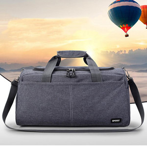 Large Sports Gym Bag With Shoes Pocket Men Women Outdoor Waterproof Fitness Training Duffle Bag Travel Yoga Handbag