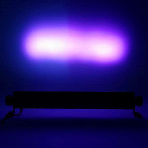 Best AC100V-240V 260W UV 9-LED Remote-controlled Auto Sound DMX Purple Light DJ Wedding Party Stage Light Black