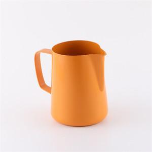 Taza de café de 400 ml de acero inoxidable Jarra de espuma de latea Leche de laca Herramienta de espuma de café Leche de café Espresso jarra 170 g2