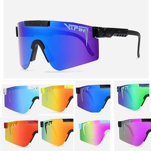 النظارات الشمسية المتضخم جديدة الاستقطاب معكوسة الأحمر عدسة tr90 الإطار uv400 حماية الرجال الرياضة حفرة الاصبر مع القضية