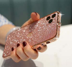 Suitable for 12 11 Pro mobile phone iPhone 6S 7 8 Plus glitter diamond X XS Max XR protective case