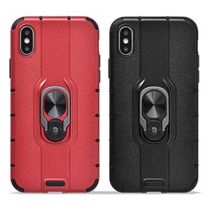 Shockproof Bumper Armor Phone Cases For iPhone 11 11 Pro Max XR XS Max X 8 7 6 6S Plus Magnetic bracket Matte Phone Back Cover
