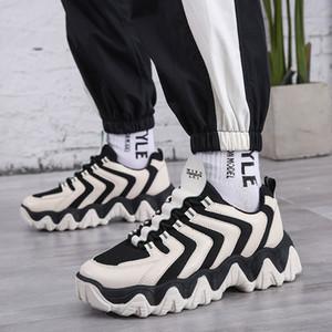 Men's fly breathable mesh mesh... light shoes 2020 fashion... retro platform shoes...