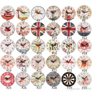 12 cm orologi da parete orologio in legno craft orologio in legno orologio soggiorno decorazioni per la casa orologio da parete orologi HHXD24326