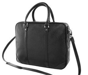 Мода мужская ноутбук компьютер сумка мессенджер сумка посыльный портфель PU кожа одно плечо деловой портфель мужская модная марка сумка